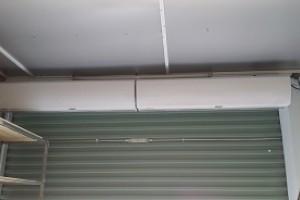 Lắp đặt Quạt chắn gió tại cửa hàng Điện tử Bách Khoa